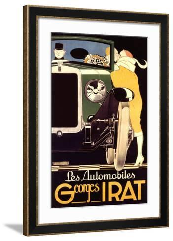 Autos George Irat--Framed Art Print