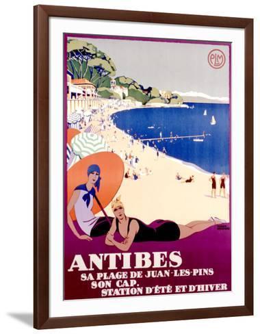 Antibes--Framed Art Print