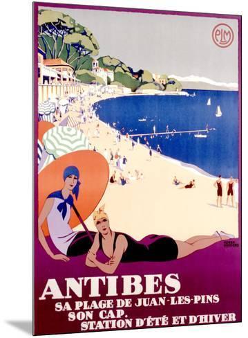 Antibes--Mounted Giclee Print