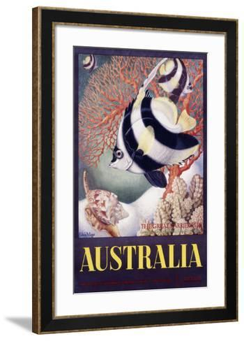 Australia Great Barrier Reef-Mayo-Framed Art Print