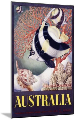 Australia Great Barrier Reef-Mayo-Mounted Giclee Print