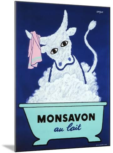 Monsavon au Lait-Raymond Savignac-Mounted Giclee Print