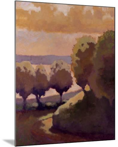 Road Down to the Lake-Lawrence Mathis-Mounted Art Print