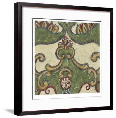 Textured Tapestry II-Chariklia Zarris-Framed Art Print