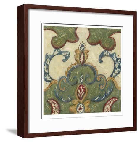 Textured Tapestry IV-Chariklia Zarris-Framed Art Print