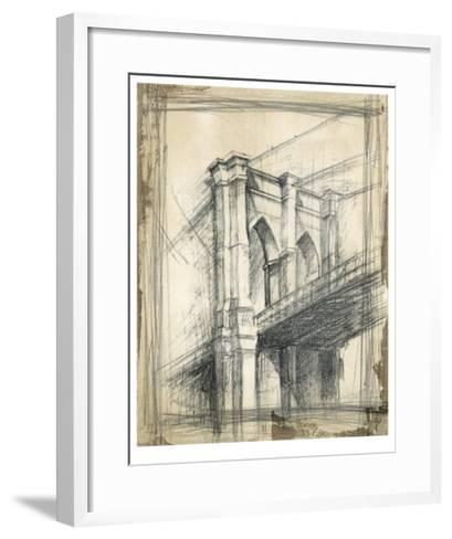 Brooklyn Bridge-Ethan Harper-Framed Art Print