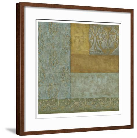 Mediterranean Tapestry I-Chariklia Zarris-Framed Art Print