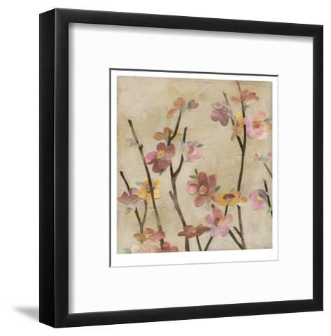 Blossom Collage I-Megan Meagher-Framed Art Print