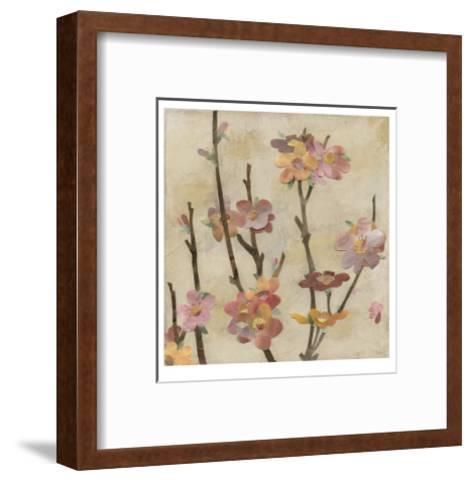 Blossom Collage II-Megan Meagher-Framed Art Print