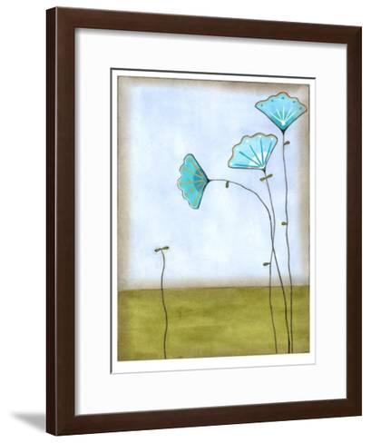 Minna's Garden II-Erica J^ Vess-Framed Art Print