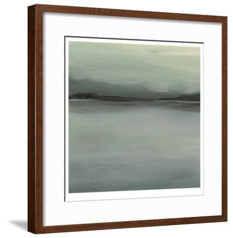 Abstract Horizon VI-Ethan Harper-Framed Art Print