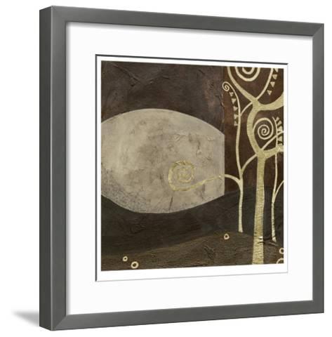 Sylvan Spirals IV-Erica J^ Vess-Framed Art Print