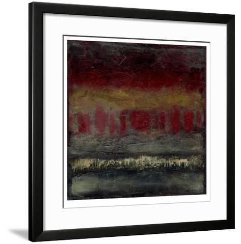 Moonlit Forest II-Jennifer Goldberger-Framed Art Print