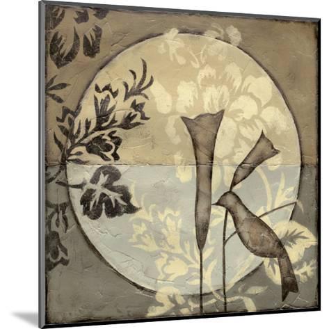 Bird Sanctuary II-Jennifer Goldberger-Mounted Limited Edition
