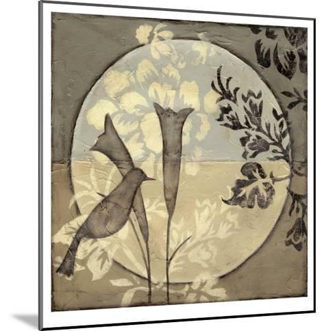 Bird Sanctuary III-Jennifer Goldberger-Mounted Limited Edition