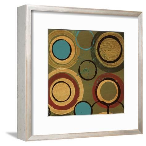 Circle Designs I-Leslie Bernsen-Framed Art Print