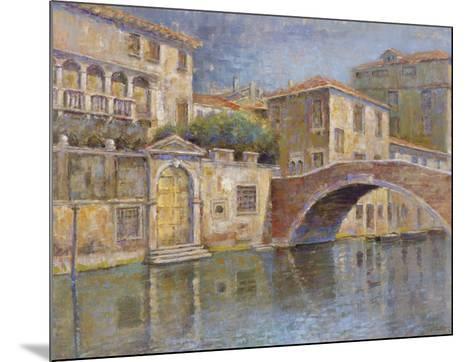 Canal View-Michael Longo-Mounted Art Print