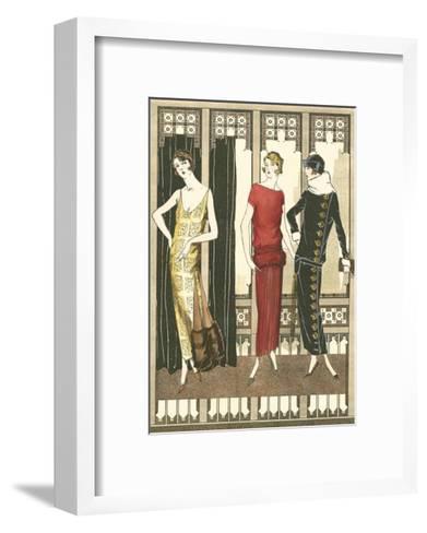 Art Deco Elegance I--Framed Art Print