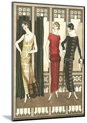 Art Deco Elegance I--Mounted Art Print