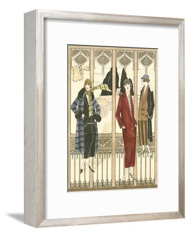 Art Deco Elegance III--Framed Art Print