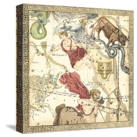 Zodiac Chart II--Stretched Canvas Print