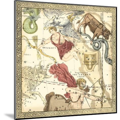 Zodiac Chart II--Mounted Art Print