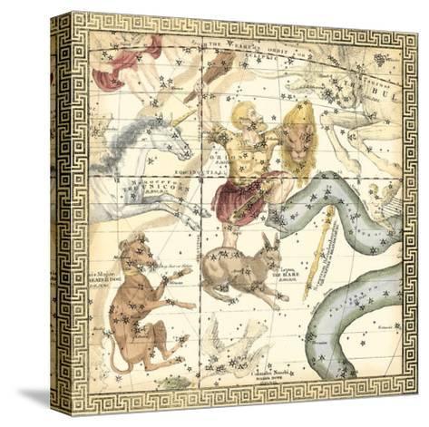Zodiac Chart IV--Stretched Canvas Print