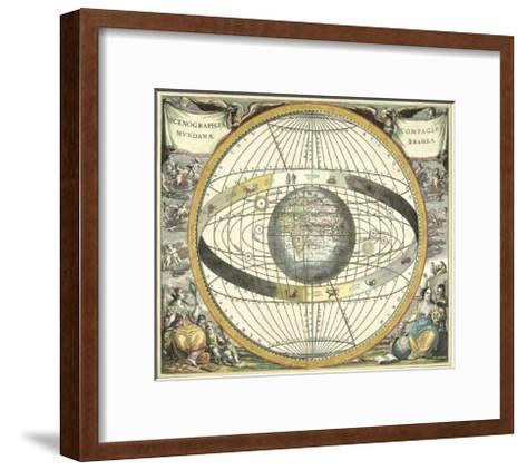 Celestial Hemispheres II--Framed Art Print