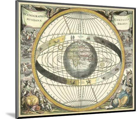 Celestial Hemispheres II--Mounted Art Print
