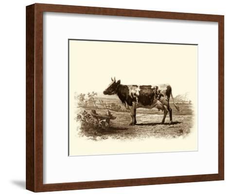 Bovine II-Emile Van Marck-Framed Art Print