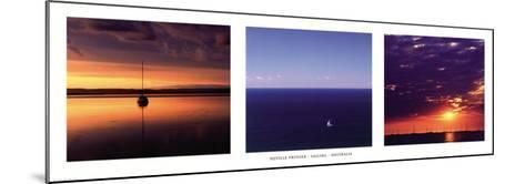 Sailing, Australia-Neville Prosser-Mounted Art Print