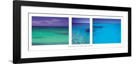 The ocean's colour-Neville Prosser-Framed Art Print