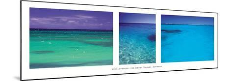 The ocean's colour-Neville Prosser-Mounted Art Print