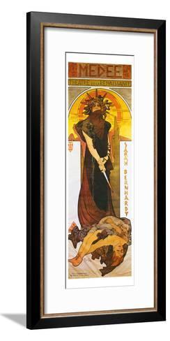 Medee-Alphonse Mucha-Framed Art Print