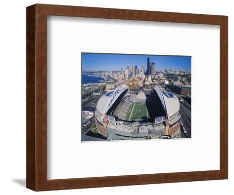 Seattle Seahawks- Quest Field--Framed Art Print