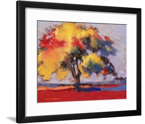 Twilight Oak I-Dennis Rhoades-Framed Art Print