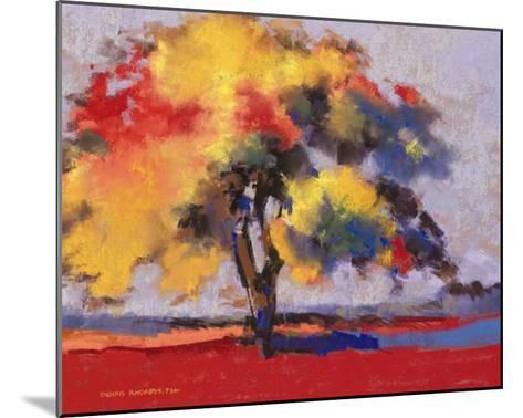 Twilight Oak I-Dennis Rhoades-Mounted Art Print