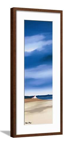 Blue Sky II-Hans Paus-Framed Art Print