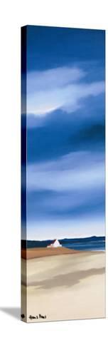 Blue Sky II-Hans Paus-Stretched Canvas Print