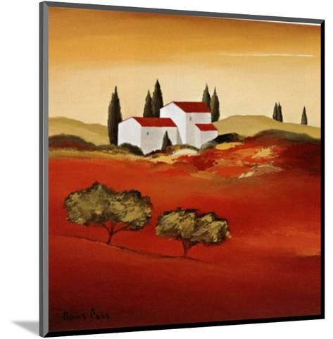 Tuscan Red IV-Hans Paus-Mounted Art Print
