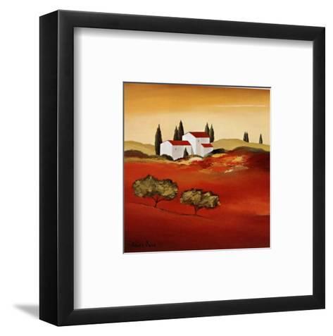 Tuscan Red IV-Hans Paus-Framed Art Print