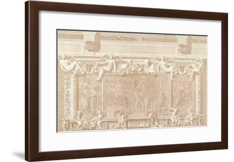 Baroque Relief I--Framed Art Print