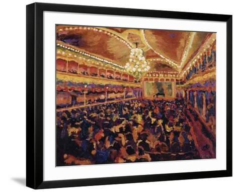 Antes del Concierto-Bautista-Framed Art Print
