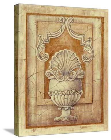 Decorative Urn I-Alexandra Bex-Stretched Canvas Print