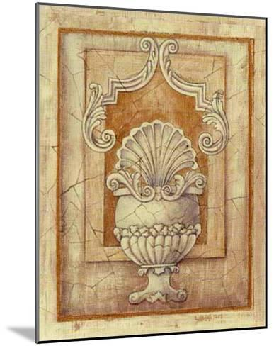 Decorative Urn I-Alexandra Bex-Mounted Art Print