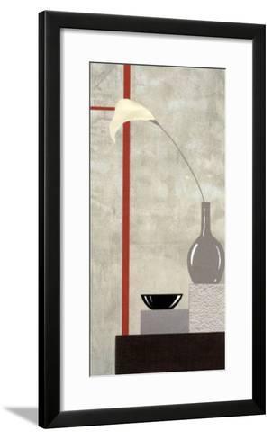 Red and White Setting II-J^l^ Vittel-Framed Art Print