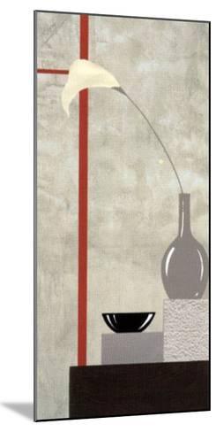 Red and White Setting II-J^l^ Vittel-Mounted Art Print