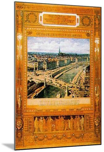 Architectural B.C.-Otto Wagner-Mounted Art Print