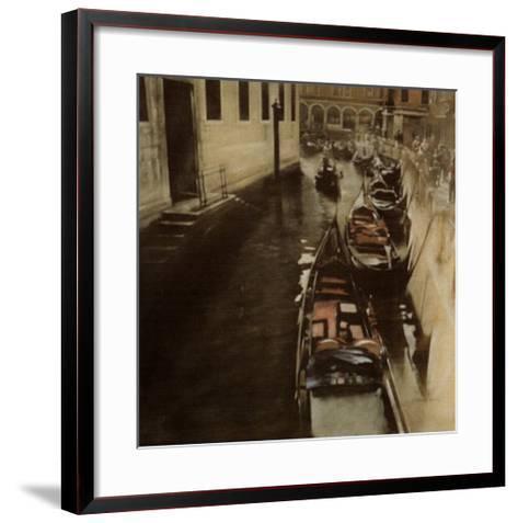Imbarcadero-Antonio Sgarbossa-Framed Art Print