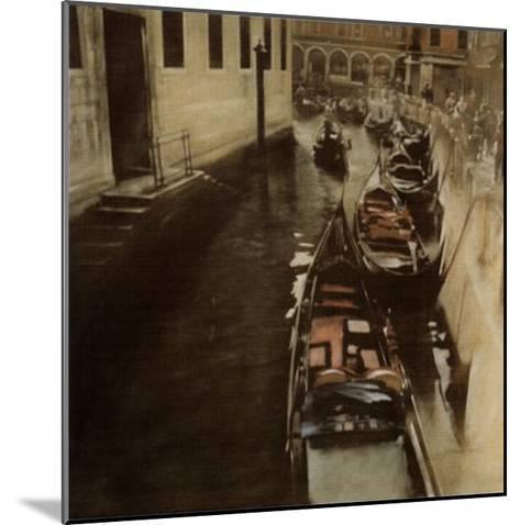 Imbarcadero-Antonio Sgarbossa-Mounted Art Print